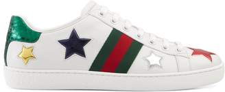 Ace embroidered sneaker $620 thestylecure.com