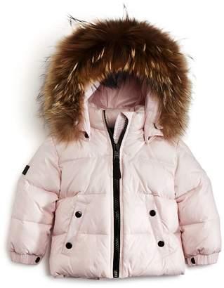 SAM. Girls' Fur-Trimmed Snowbunny Jacket - Baby