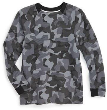 Boy's Nike 'Tech Fleece' Crewneck Shirt