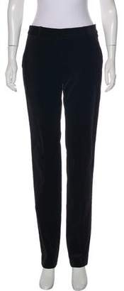 Gerard Darel Velvet Straight-Leg Pants