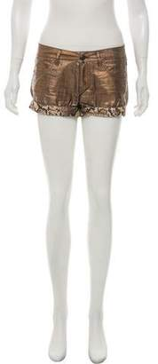 Just Cavalli Linen MIni Shorts