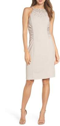 Vince Camuto Glitter Knit Sheath Dress