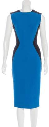 Victoria Beckham Silk & Wool-Blend Dress