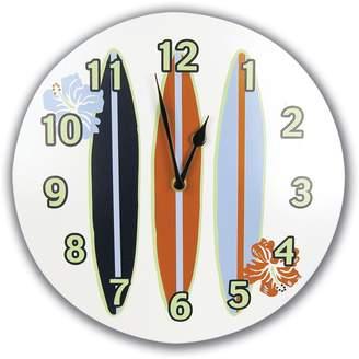 Trend Lab Surfs up Wall Clock