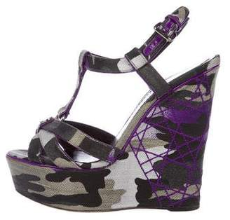 Christian Dior Cannage Camouflage Sandals