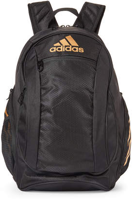 adidas Black & Gold Estadio Backpack
