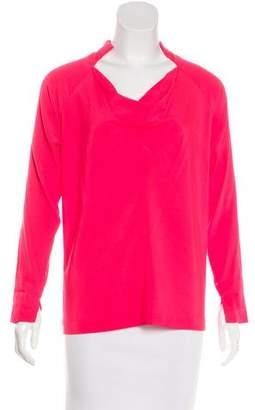 Zero Maria Cornejo Silk Long Sleeve Top