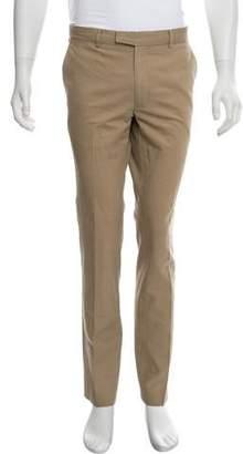 Vince Linen-Blend Flat Front Pants