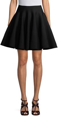 Alaia Day Dress / Black White