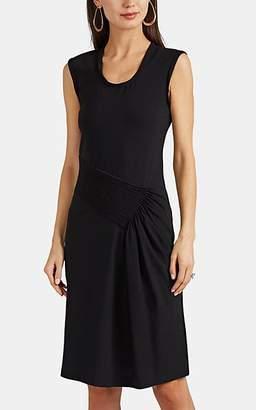 Helmut Lang Women's Pleated Cotton Jersey Tank Dress - Black