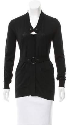 Jean Paul Gaultier Belted Wool Cardigan $145 thestylecure.com