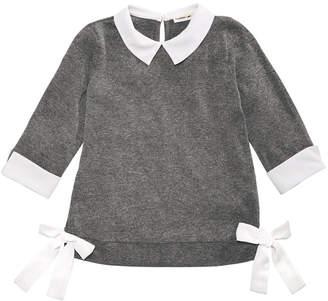 Monteau Layered-Look Side-Tie Top, Big Girls