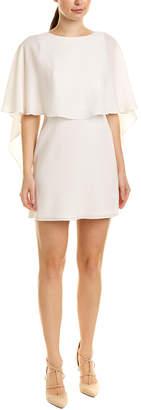 BCBGMAXAZRIA Cape Shift Dress