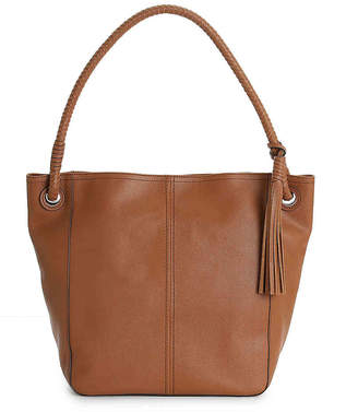 Cole Haan Tassel Leather Hobo Bag - Women's