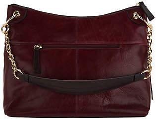 Tignanello Vintage Leather Newport Hobo Handbag