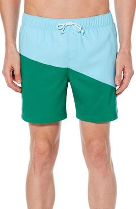 Original Penguin Colorblock Swim Trunks
