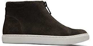 Kenneth Cole New York Women's Kayla High Top Front Zip Suede Fashion Sneaker
