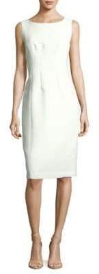 Lafayette 148 New York Carmela Solid Sheath Dress