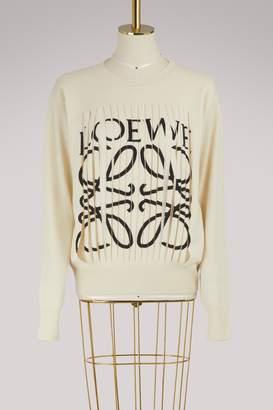 Loewe cut-out sweatshirt