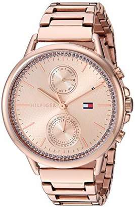 Tommy Hilfiger Women's Quartz Watch with Stainless Steel Strap
