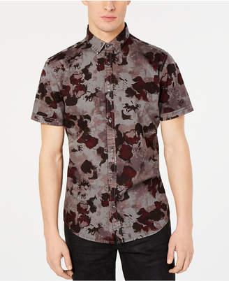 INC International Concepts Inc Men Watercolor Camo Shirt