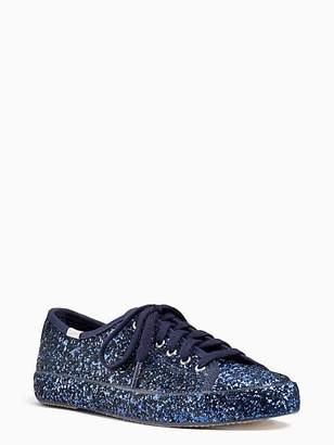 Kate Spade Keds x kick glitter sneakers