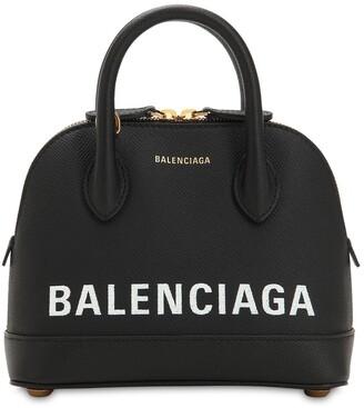Balenciaga Xxs Ville Top Handle Leather Bag