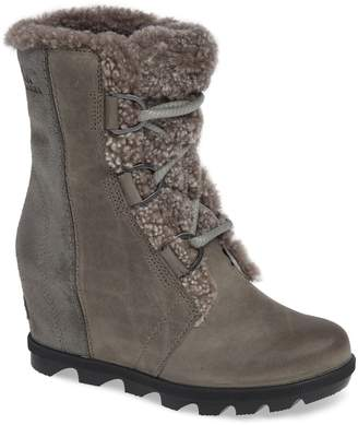 Sorel Joan of Arctic Wedge II Genuine Shearling Bootie