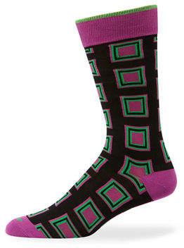 Duchamp Men's Square Cotton Socks