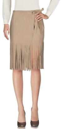 Piú & Piú PIU' & PIU' Knee length skirt