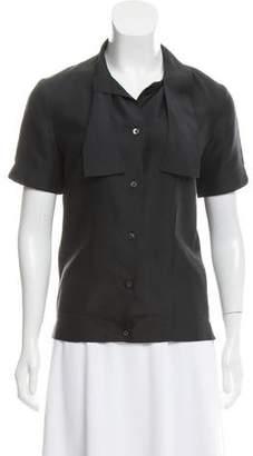 PAM Silk Button Up Shirt