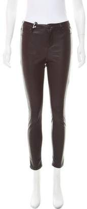 Blank NYC Faux Leather Mid-Rise Pants w/ Tags