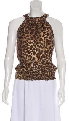 MICHAEL Michael Kors Silk Printed Top