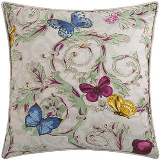 Versace Le Jardin Cushion - 45x45cm - Beige