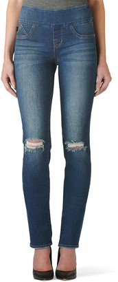 Rock & Republic Women's' Fever Midrise Pull-On Straight Leg Jeans