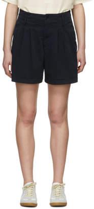 YMC Navy Twill Keaton Shorts