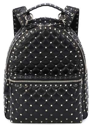 Valentino Rockstud Spike leather backpack