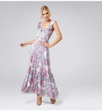 Ever New Autumn Tiered Maxi Dress