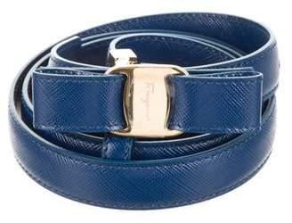 Salvatore Ferragamo Miss Vara Leather Belt w/ Tags