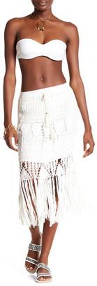 Tiare Hawaii Crosey Fringe Skirt $97.50 thestylecure.com