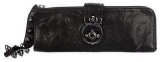 Thomas Wylde Studded Leather Clutch
