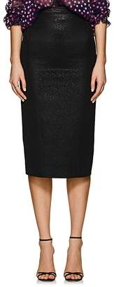 Zac Posen Women's Metallic Fitted Pencil Skirt