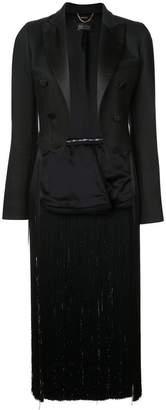 ADAM by Adam Lippes fringed tuxedo jacket