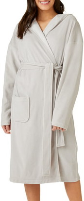The White Company Lightweight Hooded Velour Robe