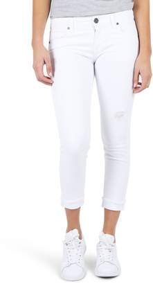 KUT from the Kloth KUT Kollection Amy Crop White Jeans