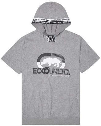 Ecko Unlimited Unltd Men Rhino Strong Ss Tape Hoodie