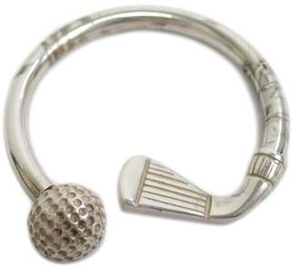 Tiffany & Co. Golf Ball 925 Sterling Silver Key Charm