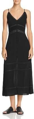 En Creme Lace-Inset Midi Dress - 100% Exclusive