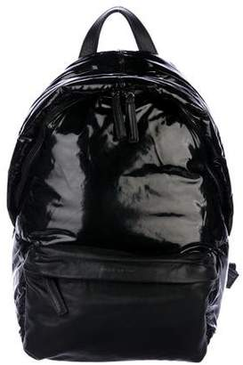 e1c5d1947907 Givenchy Puffer Leather-Trimmed Backpack
