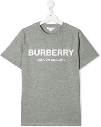 Burberry TEEN logo print T-shirt
